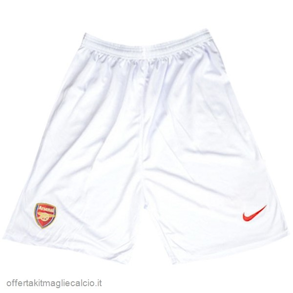 Calcio Shop Online Nike Home Pantaloncini Arsenal Vintage 2004 2005 Bianco