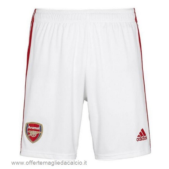 Calcio Shop Online Adidas Home Pantaloni Arsenal 2019 2020 Bianco