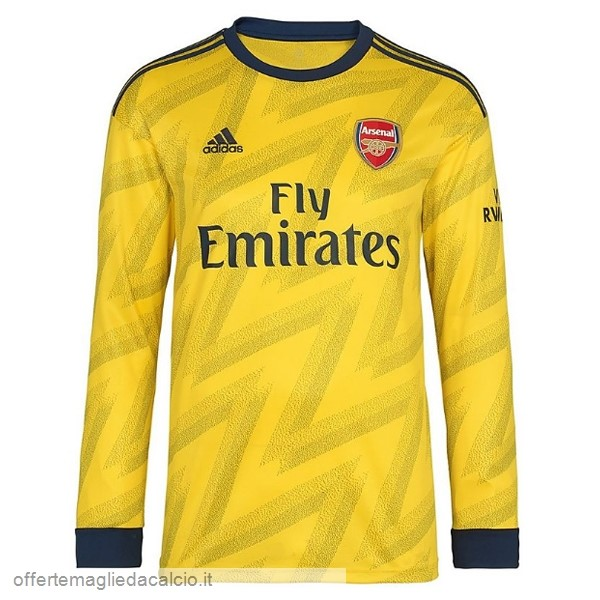 Calcio Shop Online adidas Away Manica lunga Arsenal 2019 2020 Giallo