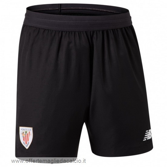 Calcio Shop Online New Balance Home Pantaloni Athletic Bilbao 2019 2020 Nero