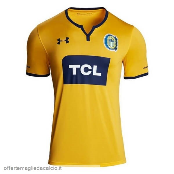 Calcio Shop Online Under Armour Away Maglia CA Rosario Central 2019 2020 Giallo