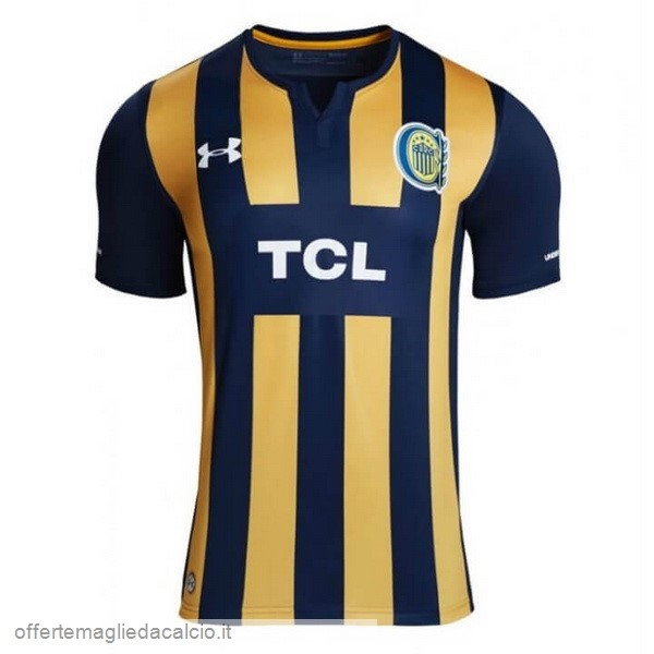 Calcio Shop Online Under Armour Home Maglia CA Rosario Central 2019 2020 Blu Giallo