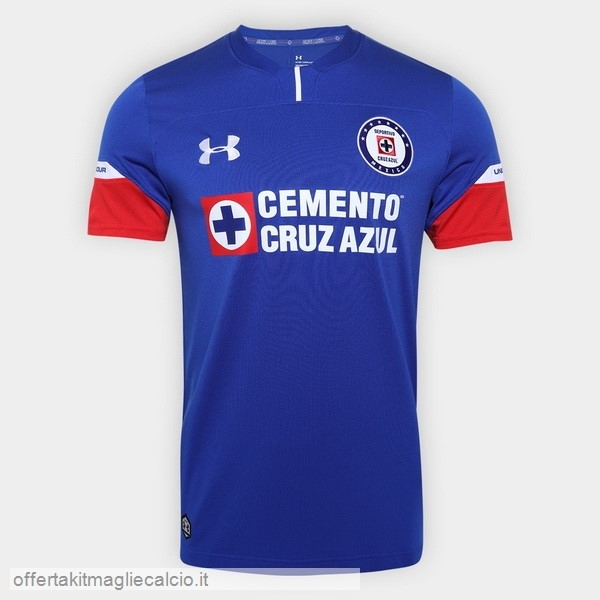 Calcio Shop Online Under Armour Home Maglia Cruz Azul 18-19 Blu