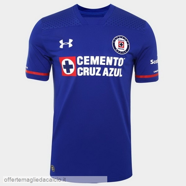 Calcio Shop Online Under Armour Home Maglia Cruz Azul 17-18 Azul