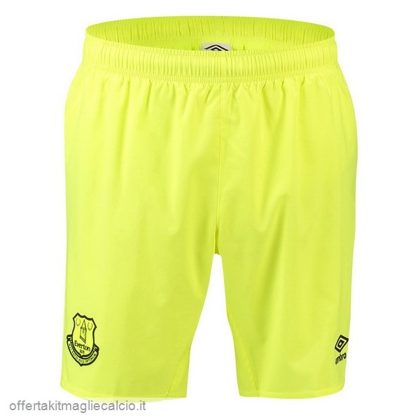 Calcio Shop Online Umbro Away Pantaloncini Portiere Everton 18-19 Verde
