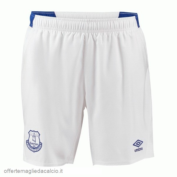 Calcio Shop Online umbro Home Pantaloncini Everton 18-19 Bianco