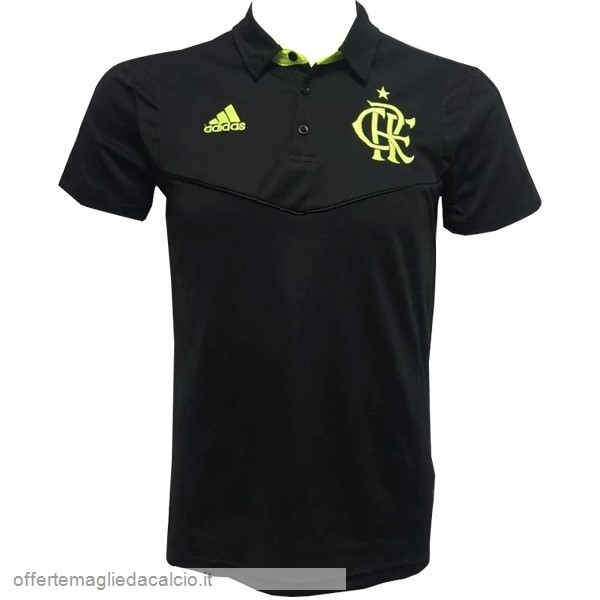 Calcio Shop Online Adidas Polo Flamenco 2019 2020 Nero