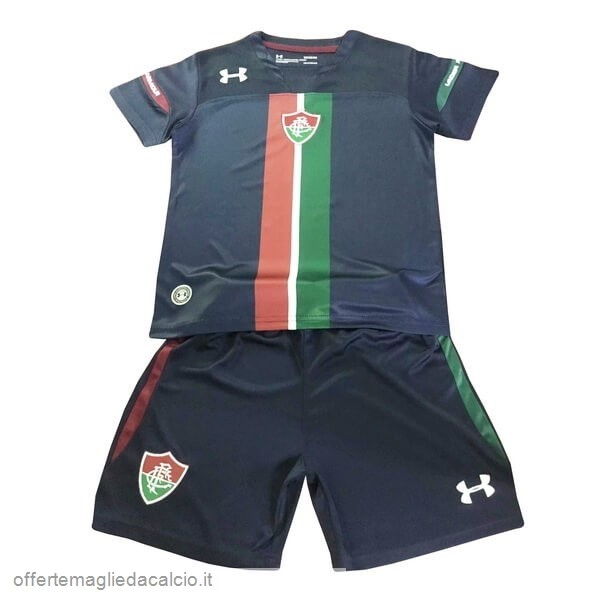 Calcio Shop Online Under Armour Terza Set Completo Bambino Fluminense 2019 2020 Nero