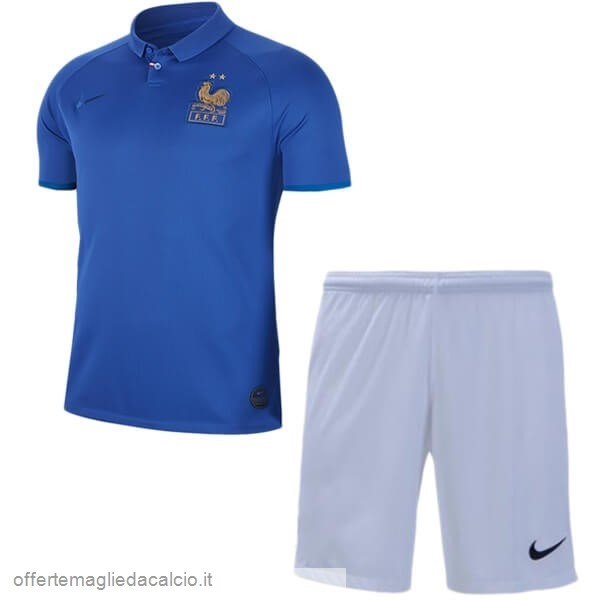 Calcio Shop Online Nike Set Completo Bambino Francia 100th Blu