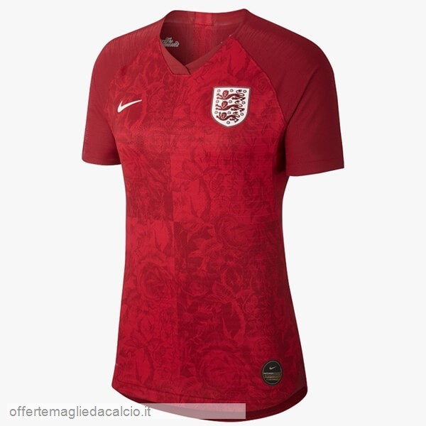 Calcio Shop Online Nike Away Maglia Donna Inghilterra 2019 Rosso