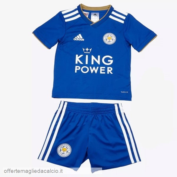 Calcio Shop Online PUMA Home Set Completo Bambino Leicester City 18-19 Blu