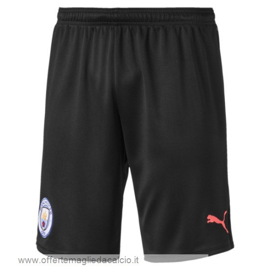 Calcio Shop Online Puma Away Pantaloni Manchester City 2019 2020 Nero