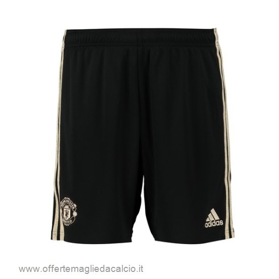 Calcio Shop Online Adidas Away Pantaloni Manchester United 2019 2020 Nero