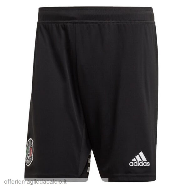 Calcio Shop Online Adidas Home Pantaloni Messico 2019 Nero