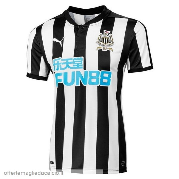 Calcio Shop Online PUMA Home Maglia Newcastle United 17-18 Nero