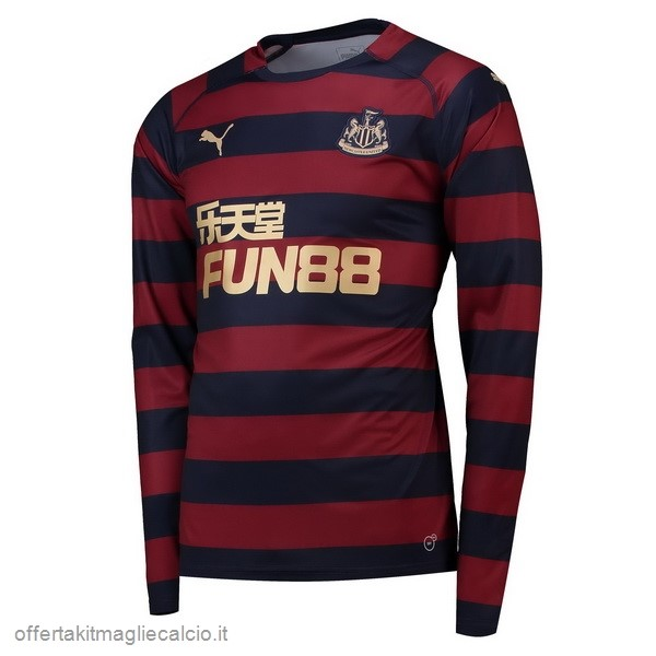 Calcio Shop Online PUMA Away Manica Lunga Newcastle United 18-19 Rosso