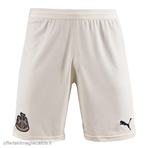 Calcio Shop Online PUMA Away Pantaloncini Newcastle United 18-19 Bianco