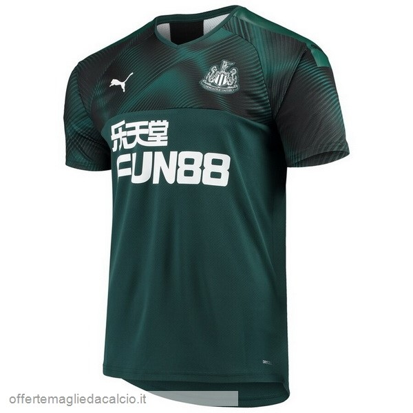 Calcio Shop Online PUMA Away Maglia Newcastle United 2019 2020 Verde
