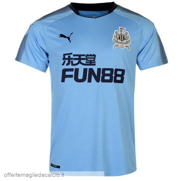 Calcio Shop Online PUMA Away Maglia Newcastle United 17-18 Blu
