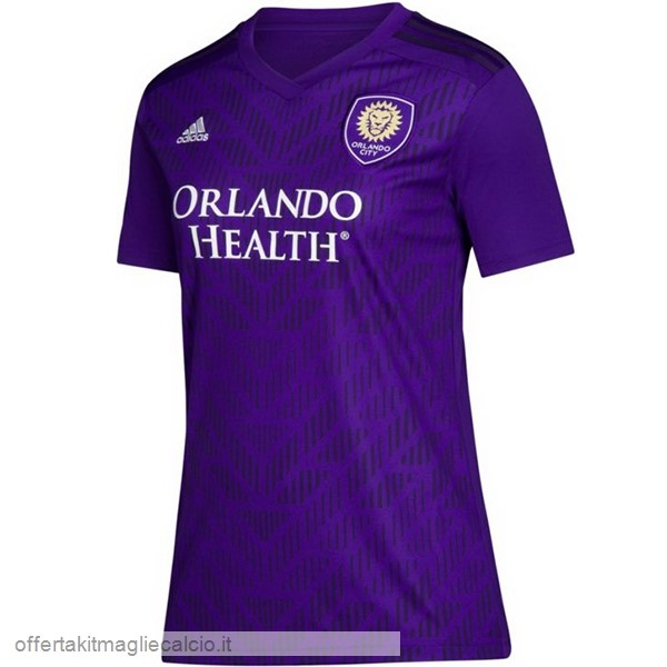 Calcio Shop Online Adidas Home Maglia Donna Orlando City 2019 2020 Purpureo