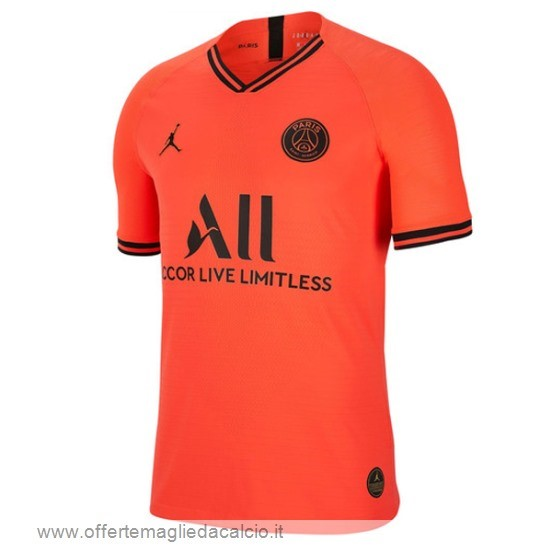 Calcio Shop Online Jordan Away Maglia Paris Saint Germain 2019 2020 Arancione
