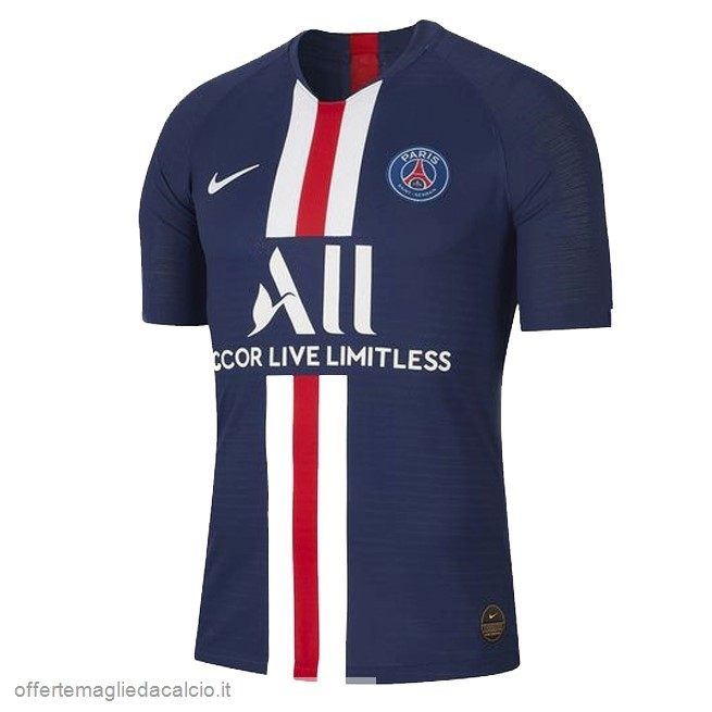 Calcio Shop Online Nike Thailandia Home Maglia Paris Saint Germain 2019 2020 Blu