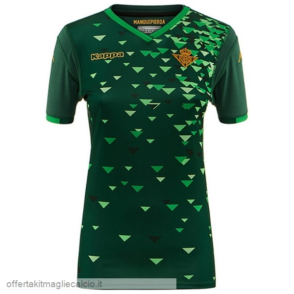 Calcio Shop Online Kappa Away Maglia Donna Real Betis 18-19 Verde