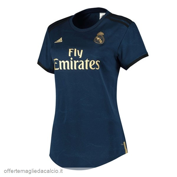 Calcio Shop Online Adidas Away Maglia Donna Real Madrid 2019 2020 Blu