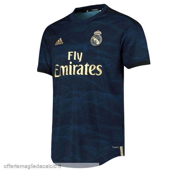 Calcio Shop Online Adidas Away Maglia Real Madrid 2019 2020 Blu