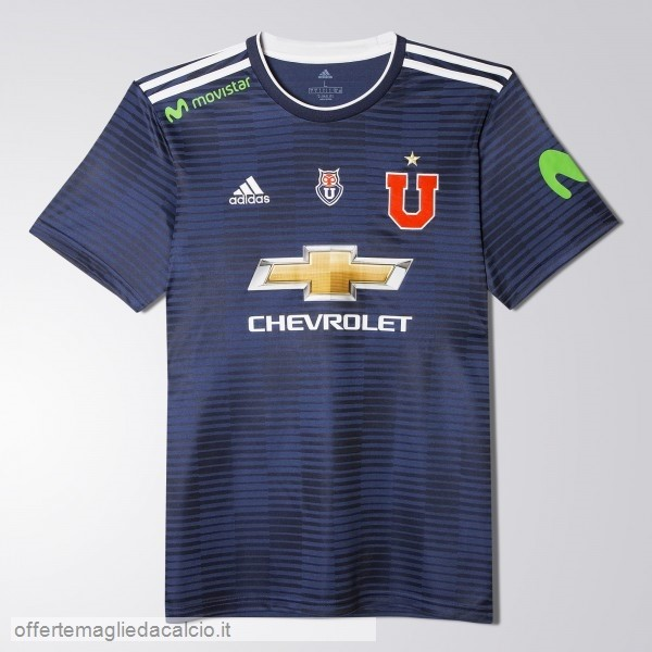 Calcio Shop Online adidas Home Maglia Universidad De Chile 17-18 Blu