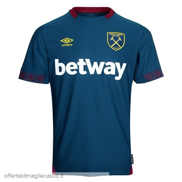 Calcio Shop Online umbro Away Maglia West Ham 18-19 Blu