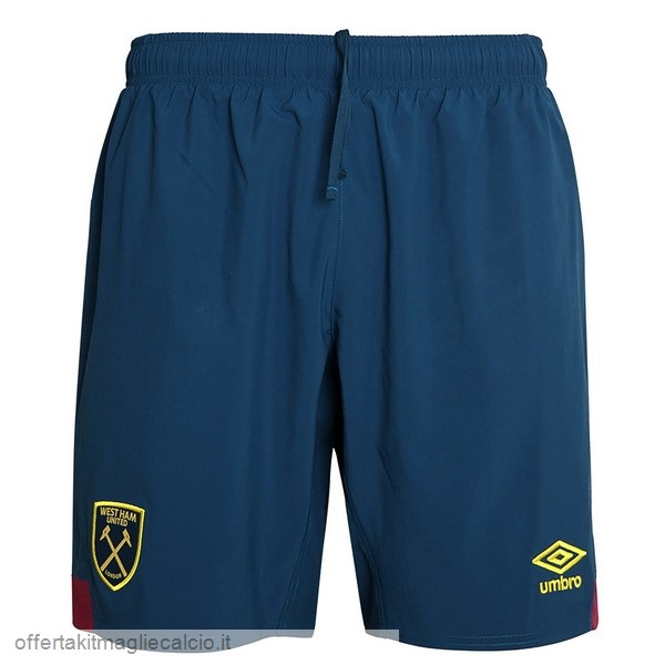 Calcio Shop Online umbro Away Pantaloncini West Ham United 18-19 Blu