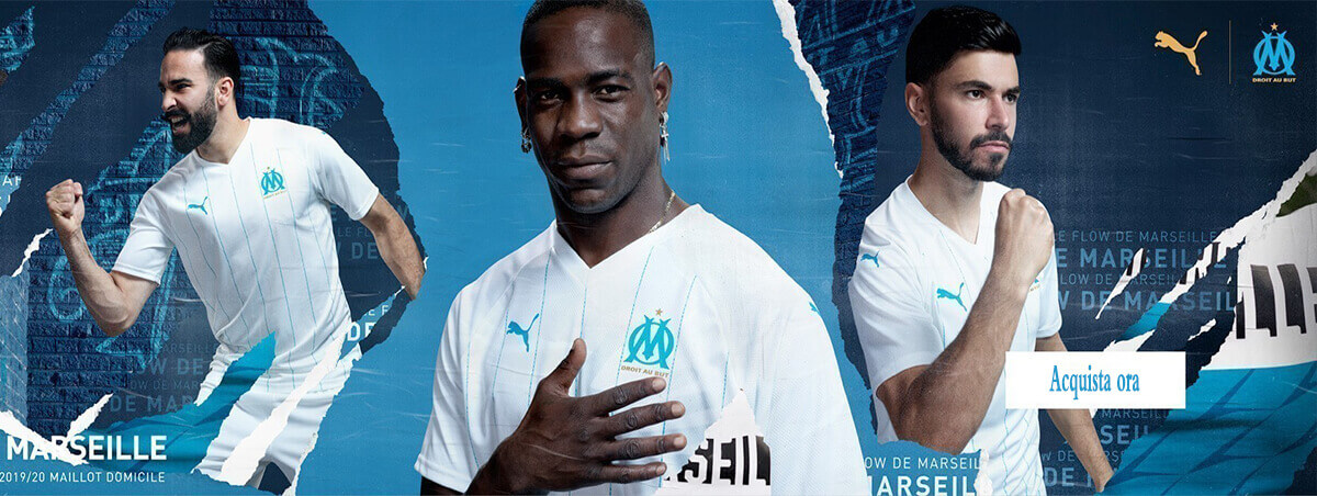 Calcio Shop Online Marseille 2020